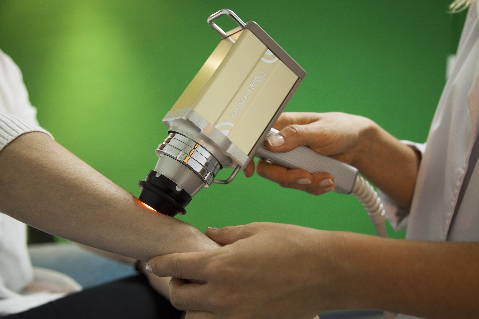 Zastosowanie lasera w dermatologii
